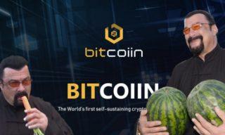 Steven Seagal Waves Goodbye To Bitcoiin