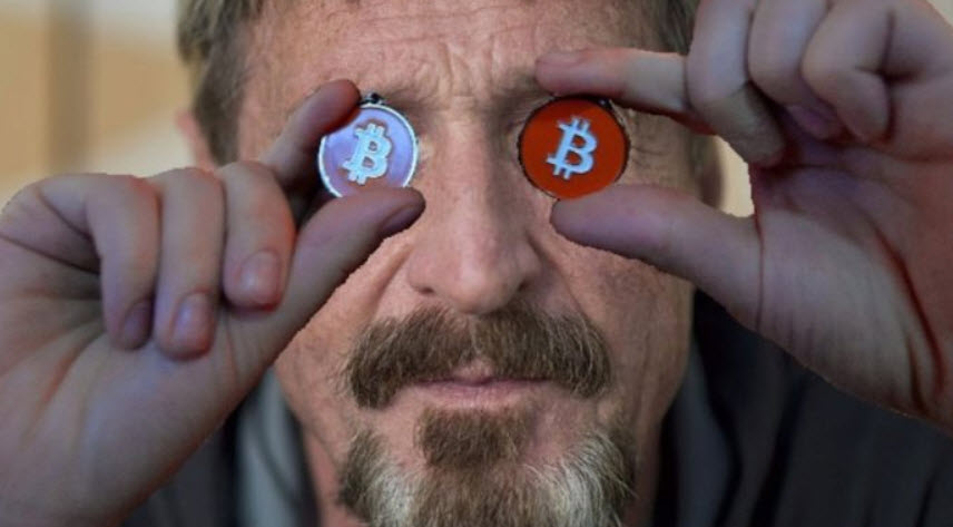 John McAfee Foretells The Next Boom